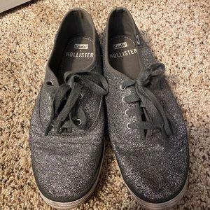 Hollister + Keds Champion Glitter Sneakers